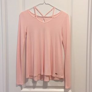 Soft pink long sleeve